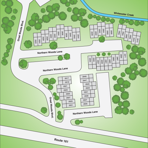 Great North Woods Apartments Sitemap